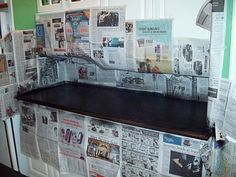 Paint your Formica Counters to look like Granite! Really! I must try this one!