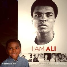 """Daughter of Mohammad Ali (Leila Ali)has shared picture of her son on instagram (http://ig-viewers.com/thereallailaali/828561934398434424_222808754 ) saying """"Look at my son looking JUST like papa!!!"""""""