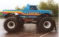 I remember getting a bigfoot monster truck in my McDonalds Happy Meal...