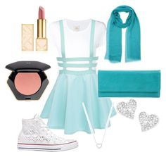 """""""Turquoise summer"""" by spiderarmy ❤ liked on Polyvore featuring Max 'n Chester, Converse, ARTE, Tory Burch, H&M, Vivienne Westwood, HOBO, Tiffany & Co., women's clothing and women"""