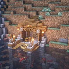 Minecraft Cottage, Minecraft Mansion, Cute Minecraft Houses, Minecraft Houses Survival, Minecraft Room, Minecraft Plans, Minecraft House Designs, Minecraft Tutorial, Minecraft Blueprints
