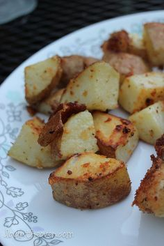 Parmesan Roasted Potatoes, look so so yummy