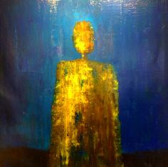 "Breadwinner, 60x60""  Rene Romero Schuler Figurative, Mixed Media, Abstract, Inspiration, Painting, Art, Summary, Biblical Inspiration, Art Background"