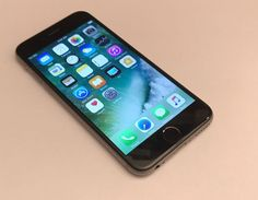Apple iPhone 6 - 128GB - Space Grey (Unlocked) Smartphone Very Good Condition
