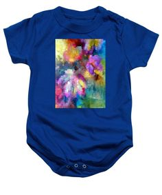 Baby Onesie - Abstract Flower 0800