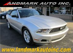 8c2061ce11 2012  Ford  Mustang V6  Convertible - Smithfield NC  landmarkautoinc  landmarkautoinc.com