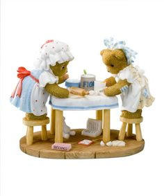 Another great find on #zulily! Cooking Up Some Fun Figurine by Cherished Teddies #zulilyfinds