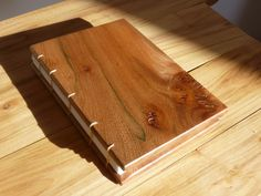 Julie Durkacz | wood book, covers made from cherry