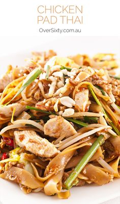 Chicken Pad Thai Recipe - who needs takeaway? Just whip up your own delicious Pad Thai at home.