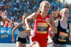 Allie Schadler Proves She Belongs up Front | Runner's World