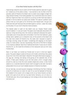 #WonderfulTravelBlog #LuxeRestTravelPIllow #RestfulTrip #BestNeckSupport  http://www.amazon.com/dp/B0140WVQPG/