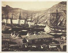 Cossack Bay, Balaklava, 1855, Roger Fenton (English, 1819–1869), salted paper print