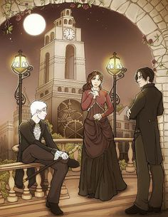 The Infernal Devices- Tessa, Will, and Jem