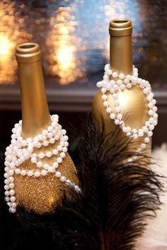 10 Glamorous Gold Wedding Decorations To Dazzle Your Guests Gold Glitter, Wedding Table Decorations, Simple, Furniture, Ideas, Home Decor, Wedding Dresses, Homemade Home Decor, Bride Dresses
