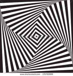 optical illusion art circle vector background