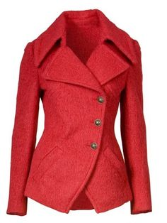 Love this fall coat! Want a red coat so bad!