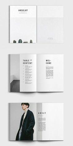 ABSOLUT Photography Portofolio #brochure #template #indesign #lookbook #portfolio #photography #catalog Lookbook Layout, Lookbook Design, Photography Brochure, Photography Portfolio, Photography Magazine, Editorial Photography, Poster Design, Logo Design, Design Design