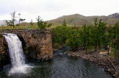 Mongolia – Orkhon waterfall