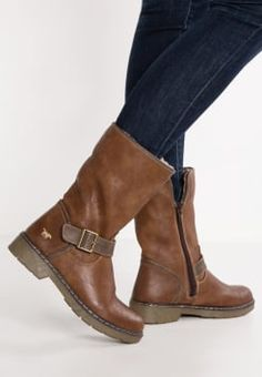 Mustang - Short boots - kastanie