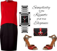 """Givenchy - Simple and Chic"" by latoyacl ❤ liked on Polyvore"
