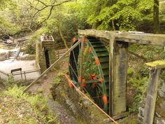 The big wheel. Taken by Lizzy of Railholiday - self catering converted railway carriages in Cornwall. Places In Cornwall, China Clay, Barns Sheds, Big Wheel, Holiday Accommodation, Easy Access, Devon, Holiday Fun, Britain