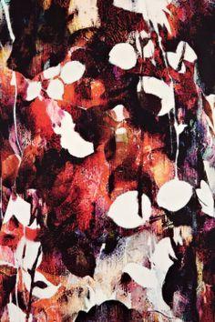 blurred floral