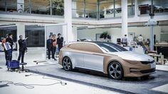 OG | 2015 Kia Sportspace Concept | Full-size clay model