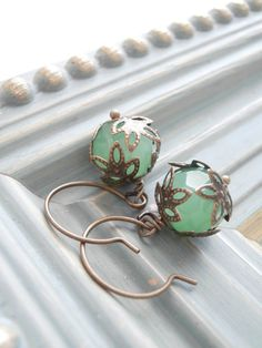 Hey, I found this really awesome Etsy listing at https://www.etsy.com/listing/82090929/beaded-earrings-sea-mist