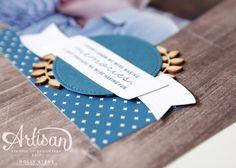 Holly's Hobbies: Display Stamper Scrapbook Page - Wood Textures Sneak Peek
