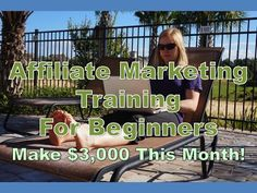 http://youtu.be/1sXWaHYlj7Y?list=UULojyGFbguhdUSsPXy2fl6w   Affiliate Marketing Training For Beginners - Make $3,000 This Month Visit beginners.15kprofitblog.com for instant access to the step-by-step affiliate marketing system for beginners