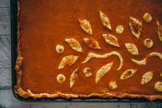 Old Fashioned Pumpkin slab Pie · The Crepes of Wrath - The Crepes of Wrath Pumpkin Recipes, Pie Recipes, Fall Recipes, Dessert Recipes, Desserts, Holiday Recipes, Thanksgiving Pies, Tofurkey Thanksgiving, Slab Pie