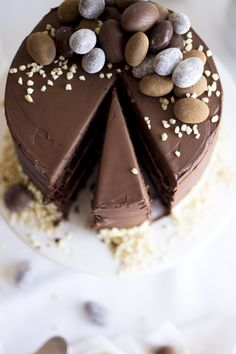 chocolate Easter cake_11