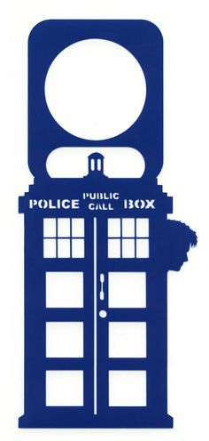 TARDIS - Doctor Who - Door Hanger - Tennant -10th Doctor on Etsy, $5.99