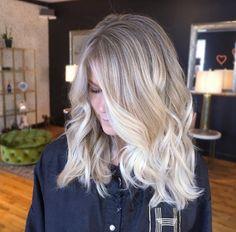 Icy blonde ombre by Chrissy Rasmussen