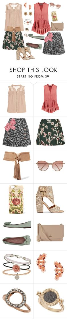 """""""double skirt 3"""" by marlenewelke ❤ liked on Polyvore featuring Chelsea Flower, Elizabeth and James, Dolce&Gabbana, Marni, Balmain, Cutler and Gross, Gucci, Laurence Dacade, RED Valentino and Vivienne Westwood"""