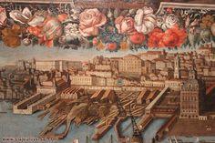 PANORÁMICA DE LA CIUDAD DE LISBOA EN EL SIGLO XVIII, MUSEO NACIONAL DE ARTE ANTIGUO DE LISBOA, PORTUGAL