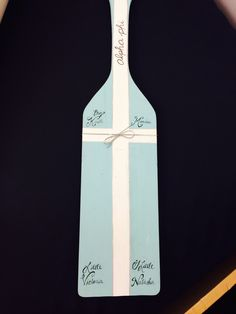 Other side of the paddle I made my grandbig!