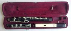 Antique 12 Key Simple System Flute (J.H. Zimmermann)  #Zimmermann