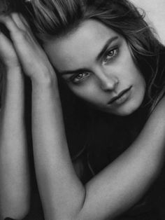 Anna Jagodzinska by Peter Lindbergh..Inspirations for Monica Hahn Photography