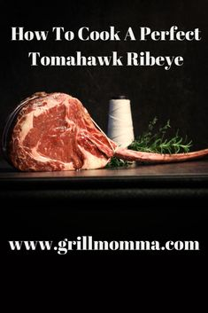 This post is sponsored by Omaha Steaks. When shopping for the perfect st Grilling Tips, Grilling Recipes, Beef Recipes, Whole Food Recipes, Tomahawk Steak Recipe, Tomahawk Ribeye, Steak Cooking Times, Cooking Tips, Rib Eye Recipes