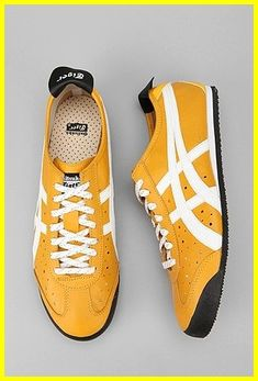 Available  Onitsuka Tiger Mexico 66 Bike Sneaker Yellow or Black – size  till   IDR 25f65432842b