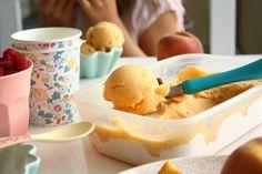 lody brzoskwiniowe bez cukru (absolutnie genialne)