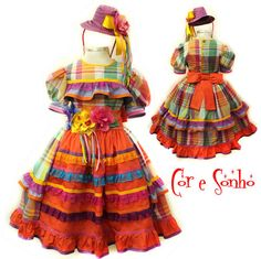 vestido de quadrilha - Pesquisa Google