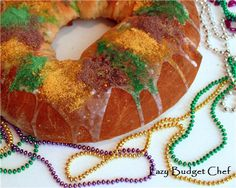 Bake a New Orleans style King Cake in a breadmaker. A milk and allergy free for Carnival and Mardi Gras (Don't worry no one will know the difference. It's that good!)