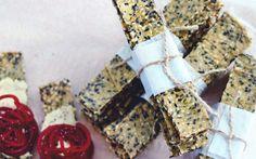 Swedish Sesame Crispbread [Vegan, Gluten-Free] | One Green Planet