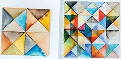 Watercolors by artist Serena Mitnik Miller.