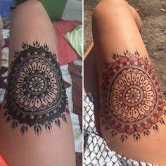 No photo description available. Hena Tattoo, Mehndi Tattoo, Henna Mehndi, Hand Henna, Mehendi, Henna Ink, Henna Body Art, Mehndi Designs 2018, Henna Tattoo Designs