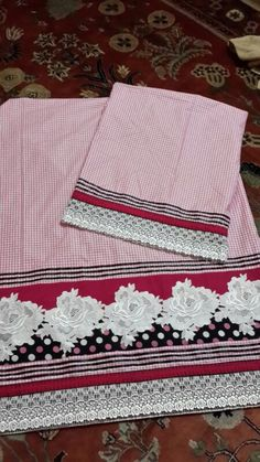 Pink Checked Rida - Casual Wear