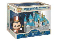 Women's Funko Pop! Town Disneyland 65th Anniversary Sleeping Beauty Castle and Mickey Mouse Figure #21