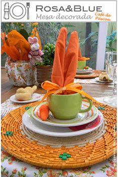 mesa café de pascoa